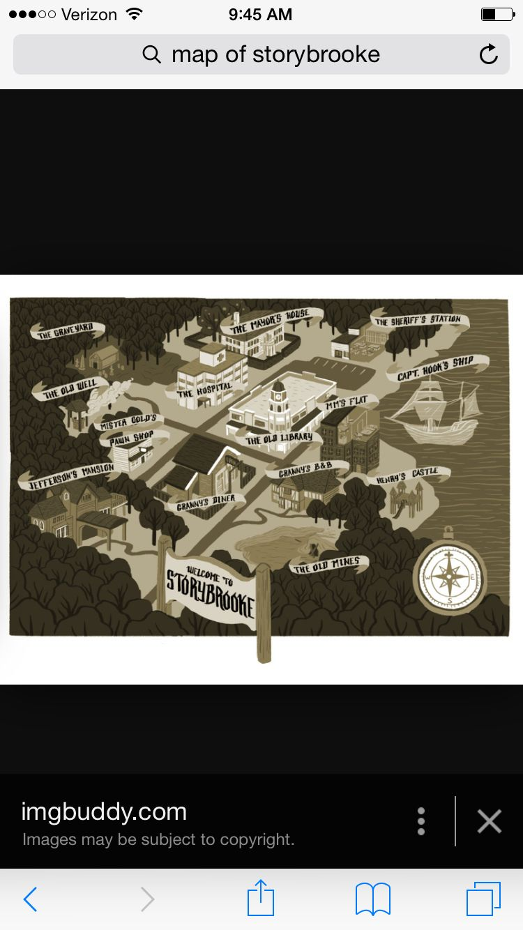 Map Of Storybrooke Ouat Once Upon A Time Pinterest Colin O
