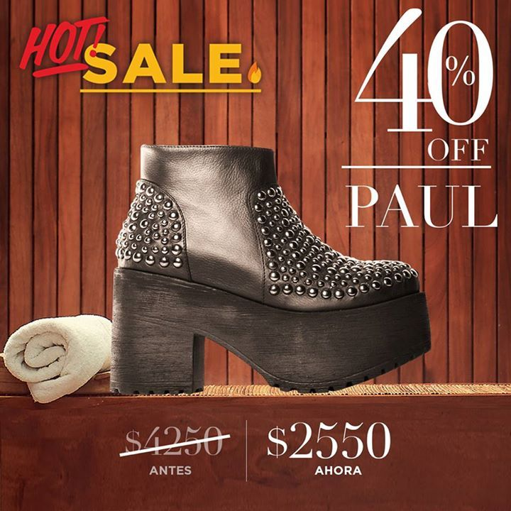 #SARKANY Paul http://bit.ly/SarkanyPaul - NOW 40% OFF - $2.550 - #SarkanyHotSale  #HotShoe  #HotSale en DREAMSTORE  www.RickySarkany.com - Hasta 50% OFF  6 cuotas sin interés exclusivo shop online!
