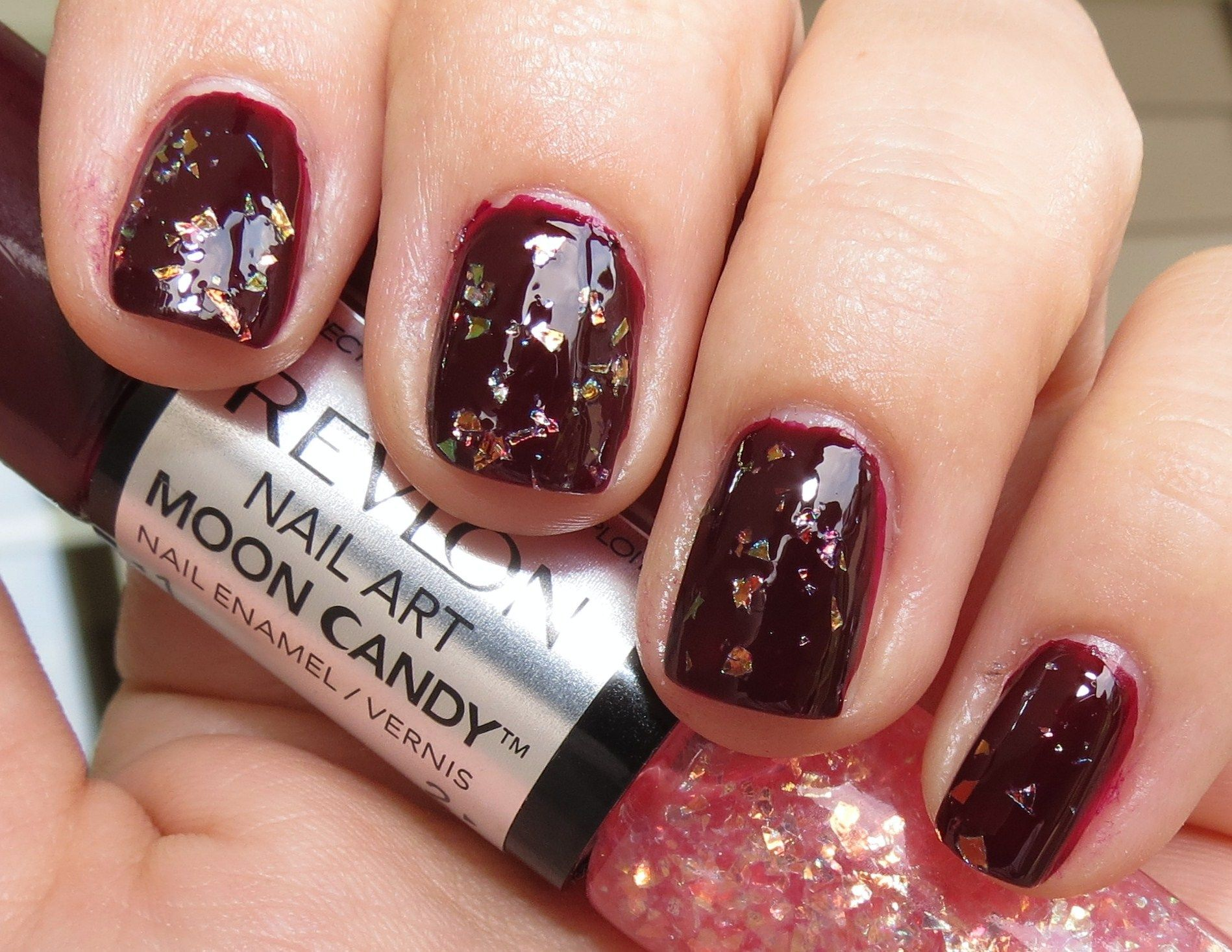 Revlon Satellite Nail Art Moon Candy Nail Enamel Swatches Review