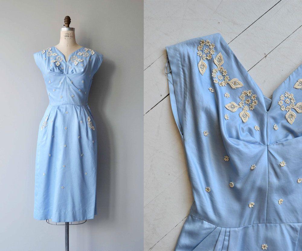 May Day dress vintage 1950s dress cotton 50s dress   Vintage ...
