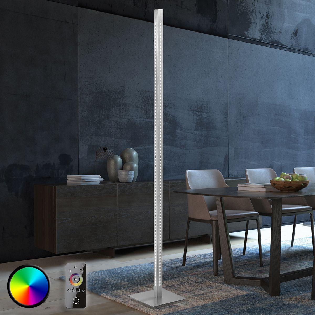 Gerade LED-Stehlampe Vidal mit Farbwechsel Jetzt bestellen unter ...