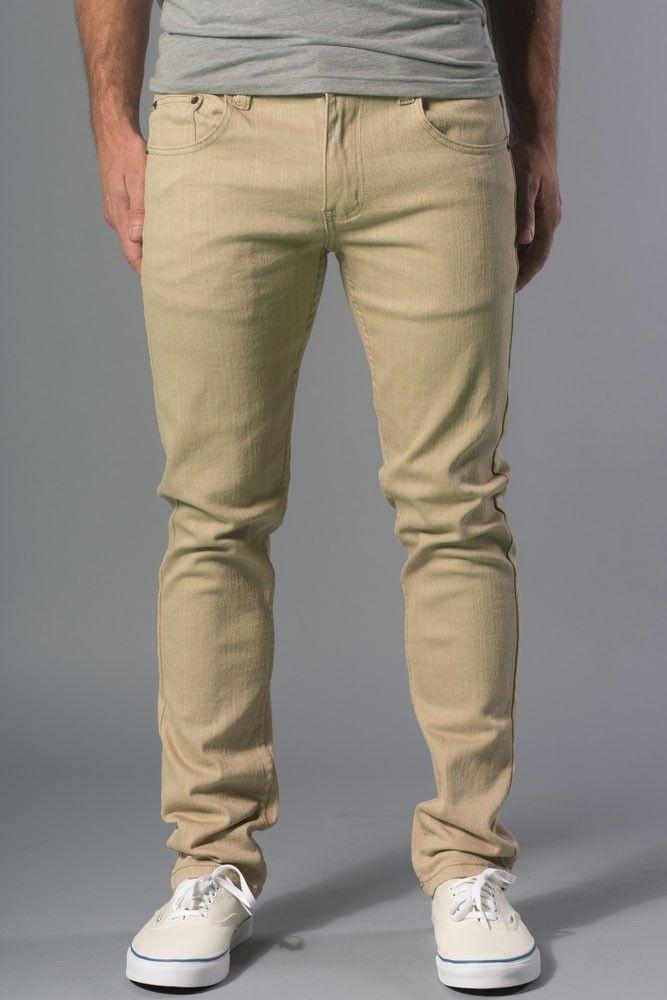 1b94cc2a1d14e0 Polychrom} Back in Khaki Skinny-Slim Jeans | 20JEANS™ for Men. | My ...