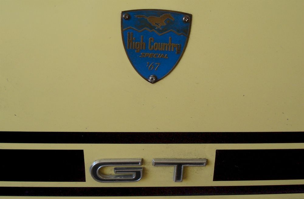 Aspen Gold 1967 Mustang Gt High Country Special Fastback Mustang Mustang Gt 1967 Mustang