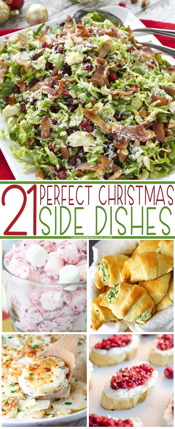 Christmas Side Dishes Pinterest.21 Perfect Christmas Side Dishes Dinner Foods To Try