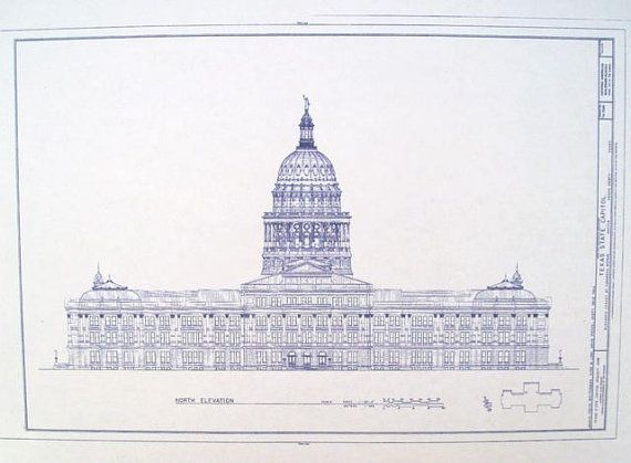Texas state capitol building blueprint decor ideas pinterest texas state capitol building blueprint malvernweather Gallery