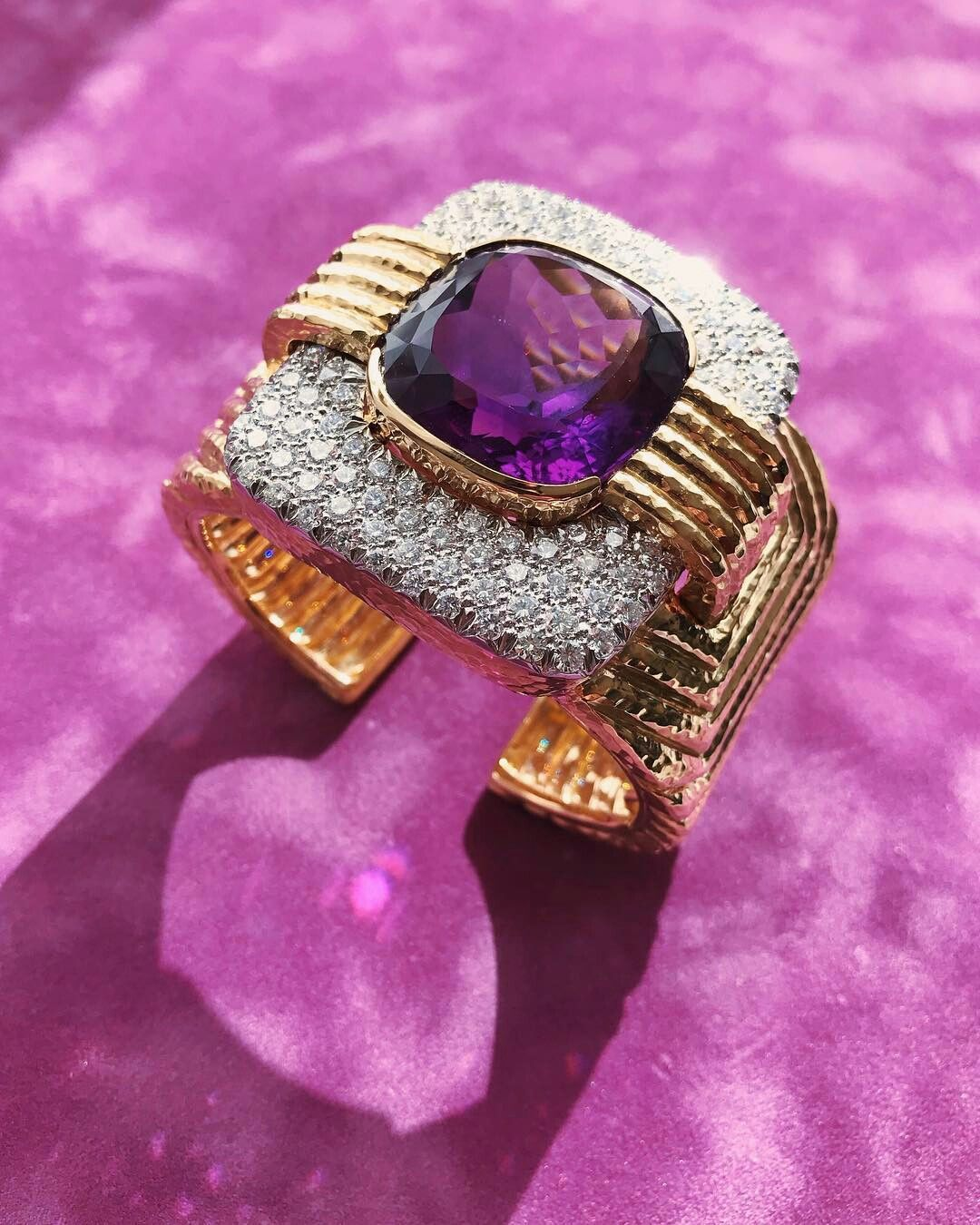 davidwebbjewels. The ultimate Ultra Violet. Amethyst embodies the ...