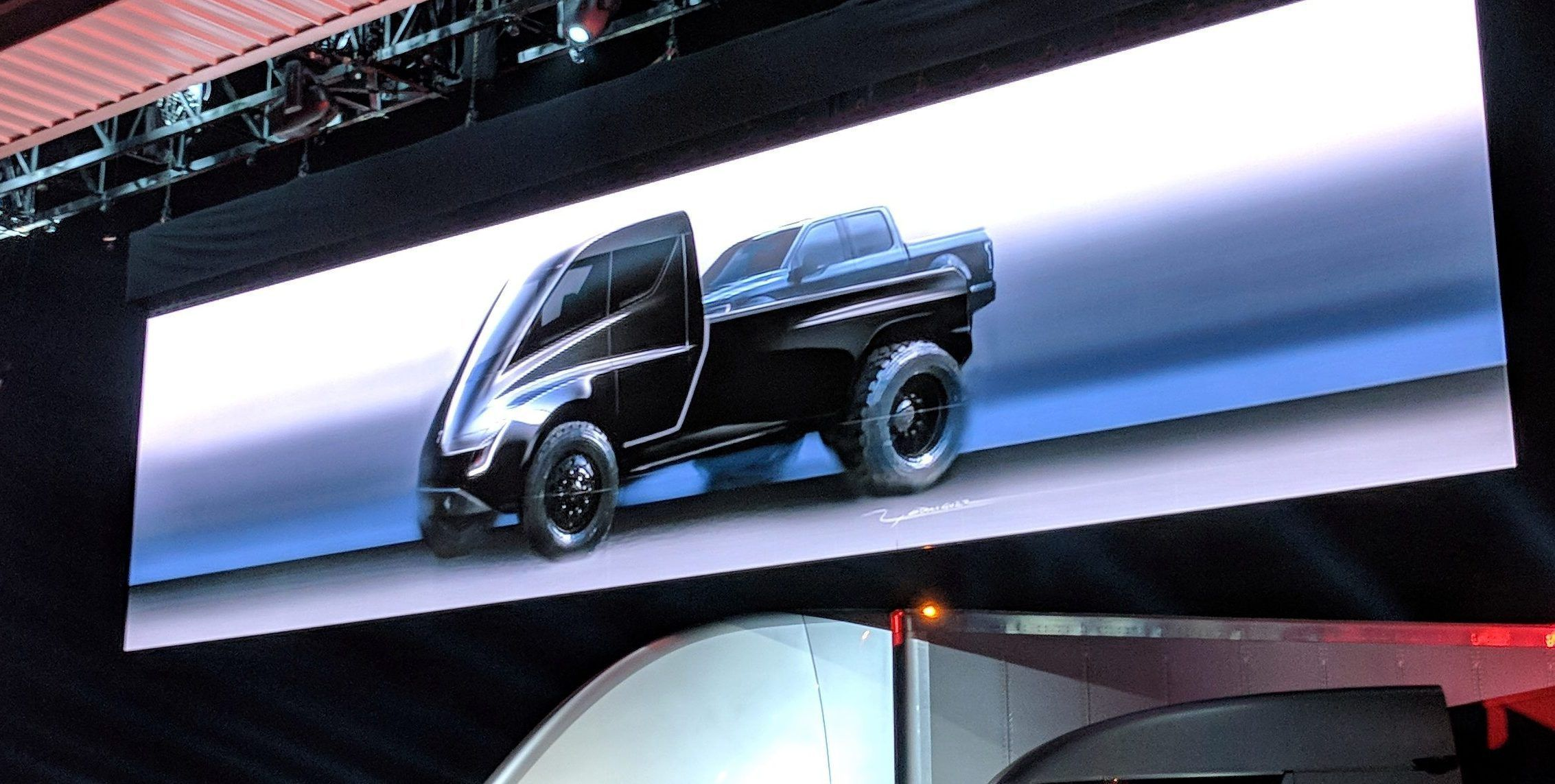 Tesla Pickup Truck Could Maybe Come Sooner Says Elon Musk As It Becomes His Favorite Upcoming Product Tesla Pickup Pickup Trucks Tesla Pickup Truck