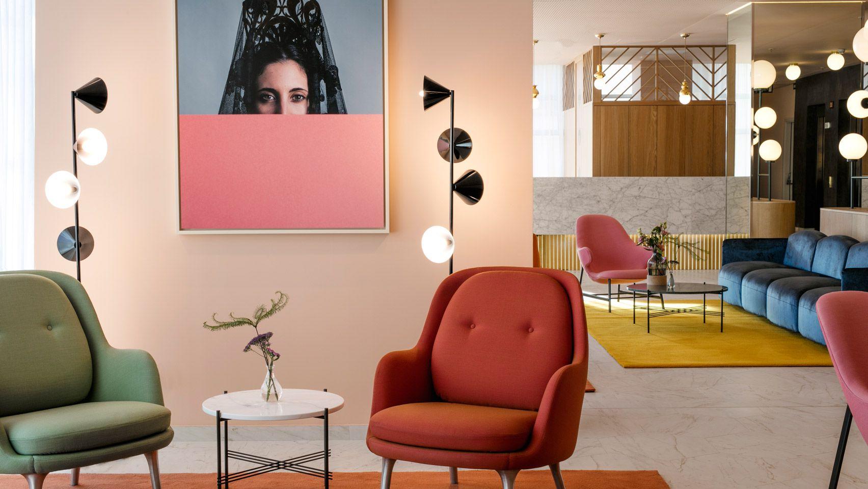 Jaime Hayon Designs Interiors For Barcelo Torre De Madrid Hotel Interior Madrid Hotels Hotels Design