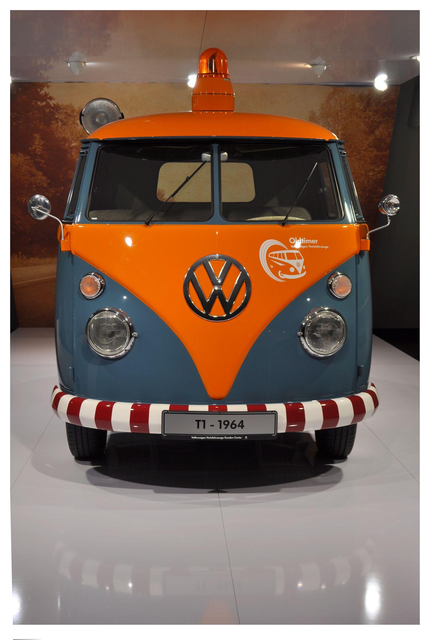Volkswagen T1 Customer Service Support Vehicle 1964 Volkswagen Vehicles Volkswagen Bus