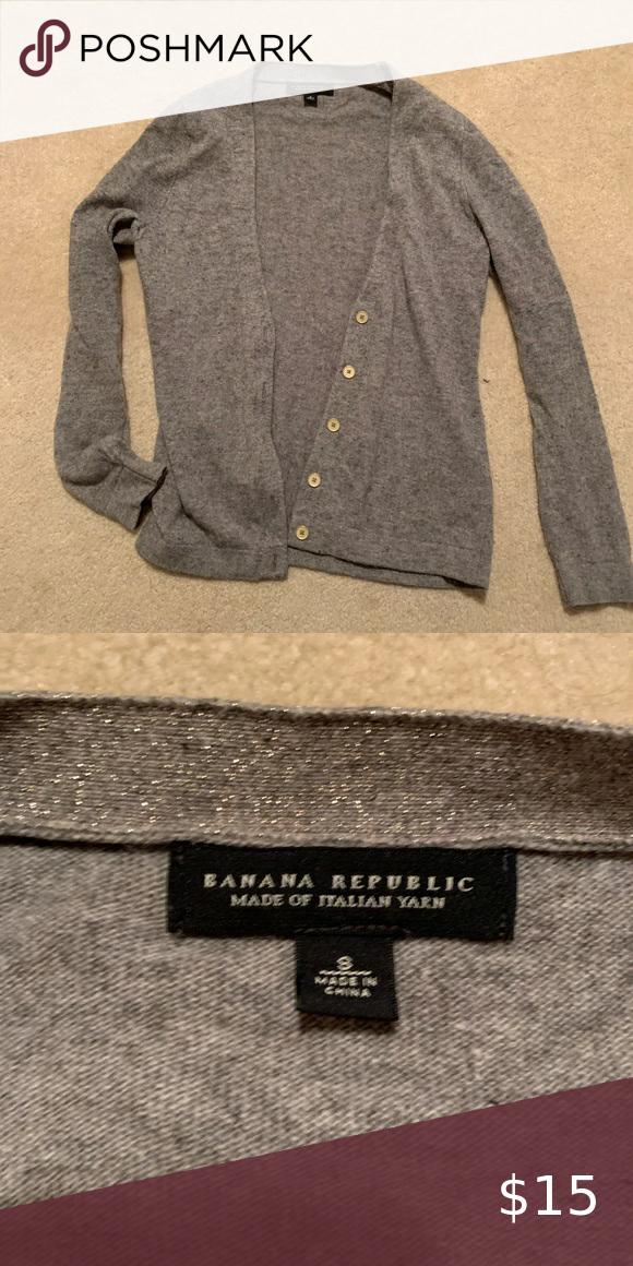 Banana Republic CARDIGAN - Cardigan - white