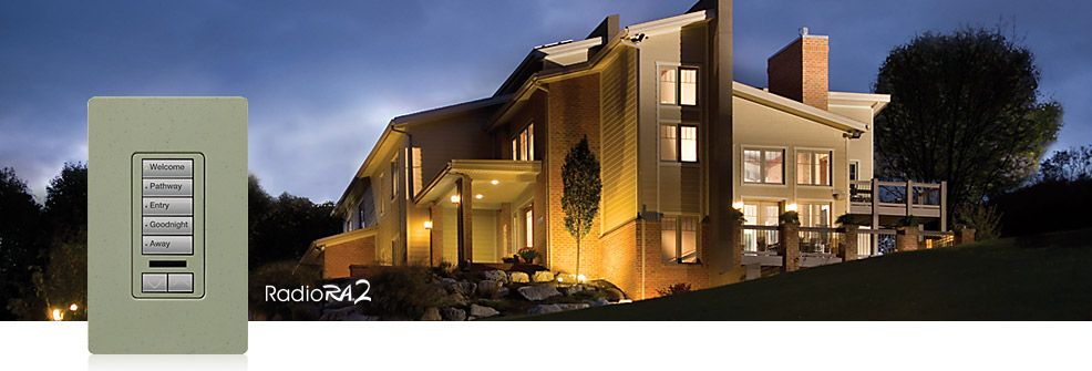 lutron radiora2 whole home lighting control system scalable and