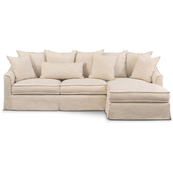 Beige Couch · Brooke Cumulus 2 Piece Sectional ...