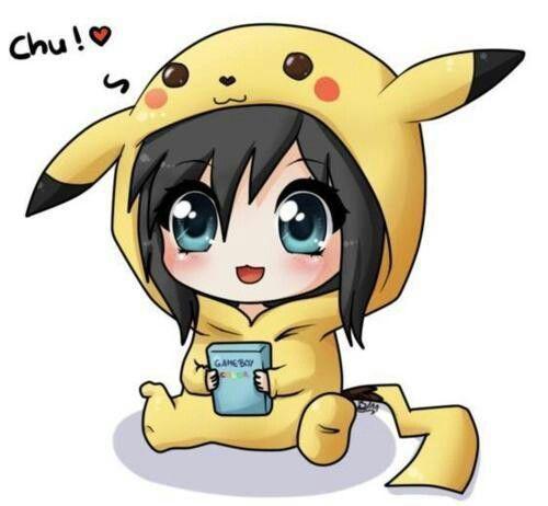بيكاتشو انمي Cute Anime Chibi Kawaii Anime Kawaii Chibi