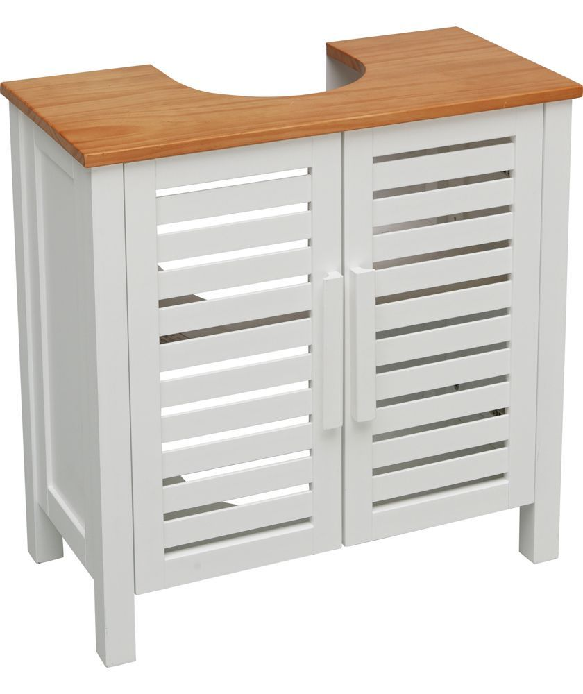 Buy bathroom cabinets at argos co uk your online shop for home and - Buy Heart Of House Sandford Under Sink Storage Unit White At Argos Co