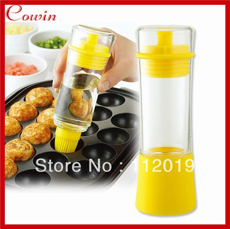 AI92 1x Creative Kitchen Tools Oil Baking Sprays brush for Oil Wine Sauce Honey