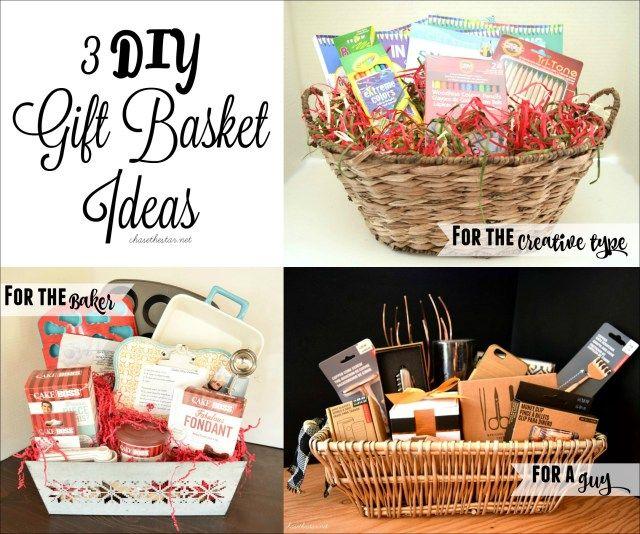 diy christmas gift baskets ideas - Diy Christmas Basket Ideas