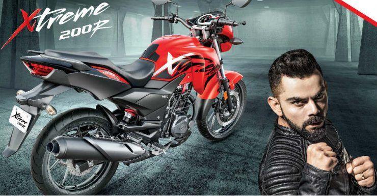 Virat Kohli Will Now Endorse Hero Motocorp Motorcycles Like Xtreme