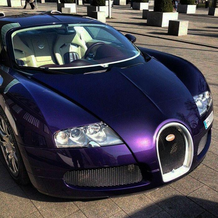 Bugatti Veyron Bugatti Bugatti Cars: Purple Bugatti Veyron. This Is My Absolute Dream Car
