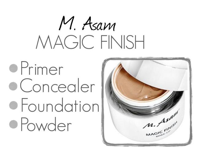 REVIEW M. Asam 4 in 1 Magic Finish Rosacea makeup, Best