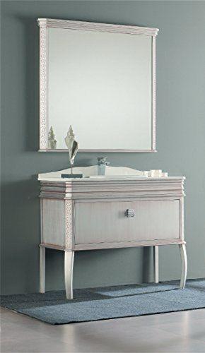 London 32 Inch Wide Bathroom Vanity Cabinet Set Single Sink