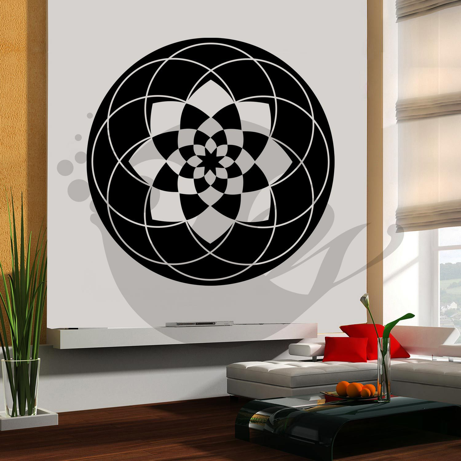 With This Halo Wall Sticker Decal You Can Decorate Your Walls In One