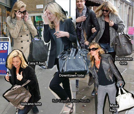 Kate Moss Obsession Ysl Bags With