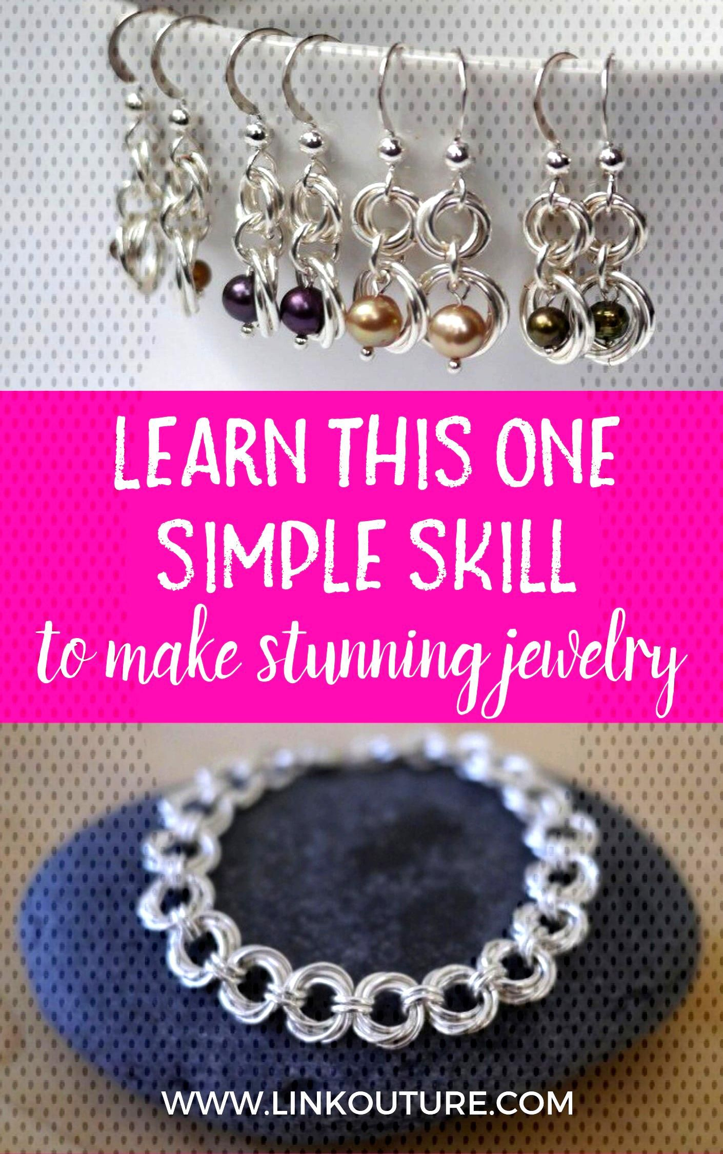 This mobius spiral is the basis for making numerous gorgeous pieces of jewelry. Learn how to make a