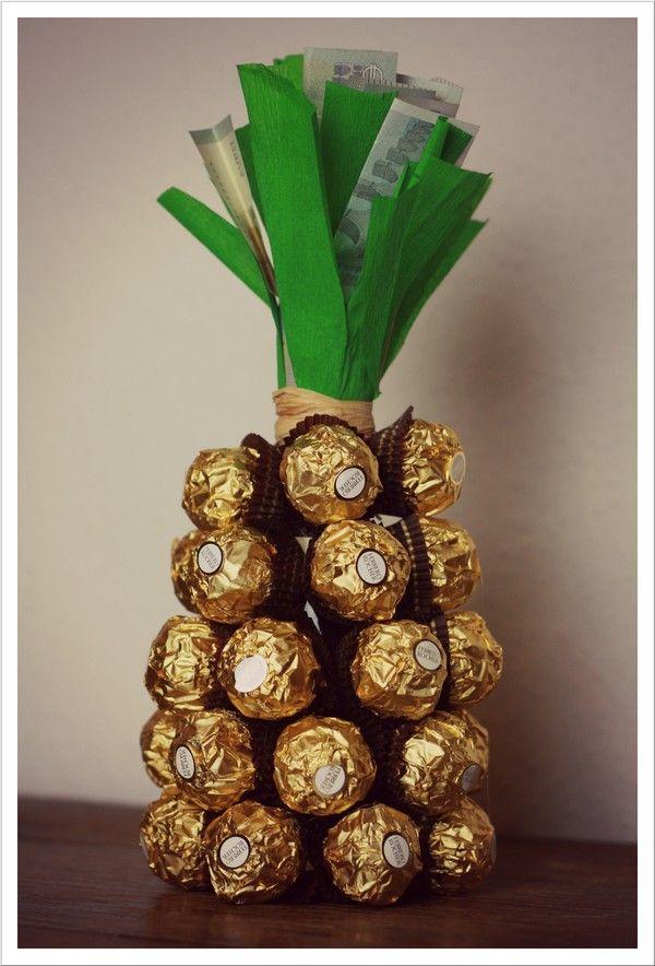 mit nadel und faden die goldene ananas geldscheine falten pinterest nadel geschenke. Black Bedroom Furniture Sets. Home Design Ideas