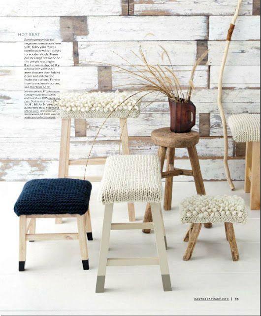 Viva, ame e design: Kirsten Marie Inc., Design de Interiores: malha-tastic