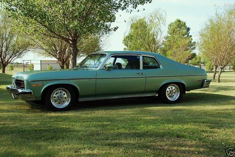 1973 Nova Custom Light Green Chevy Nova Chevy Muscle Cars Chevrolet Nova