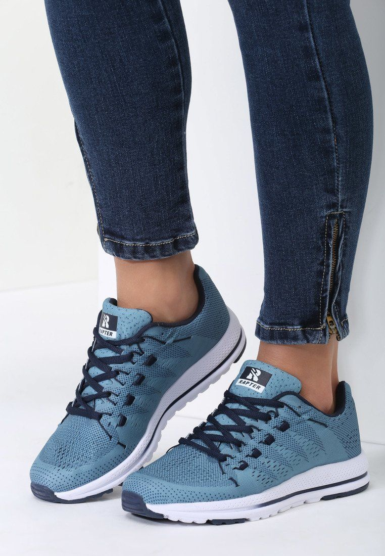 Niebieskie Buty Sportowe Delorenna Air Max Sneakers Nike Air Max Sneakers Nike