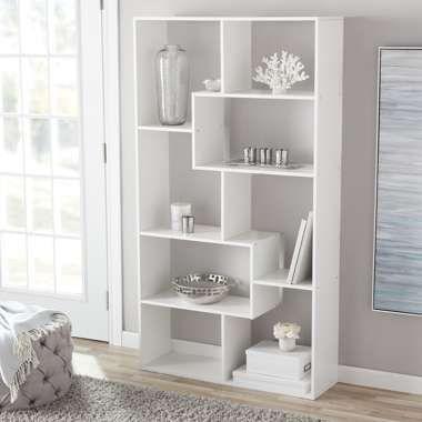 Mainstays Home 8 Shelf Bookcase Cube Bookcase Shelves Bookcase