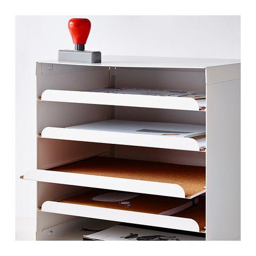 kvissle corbeille courrier blanc meubles pinterest bureau mobilier de salon et corbeille. Black Bedroom Furniture Sets. Home Design Ideas