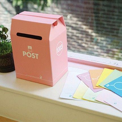 paper postbox