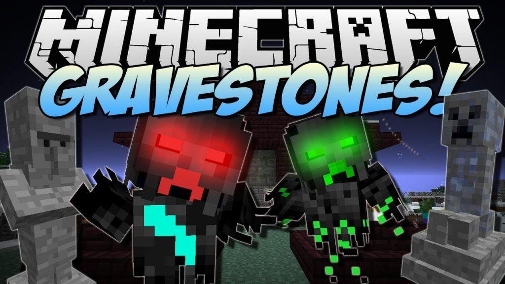 Gravestone Mod 1 12 2 1 11 2 Download Minecraft Mods Gravestone