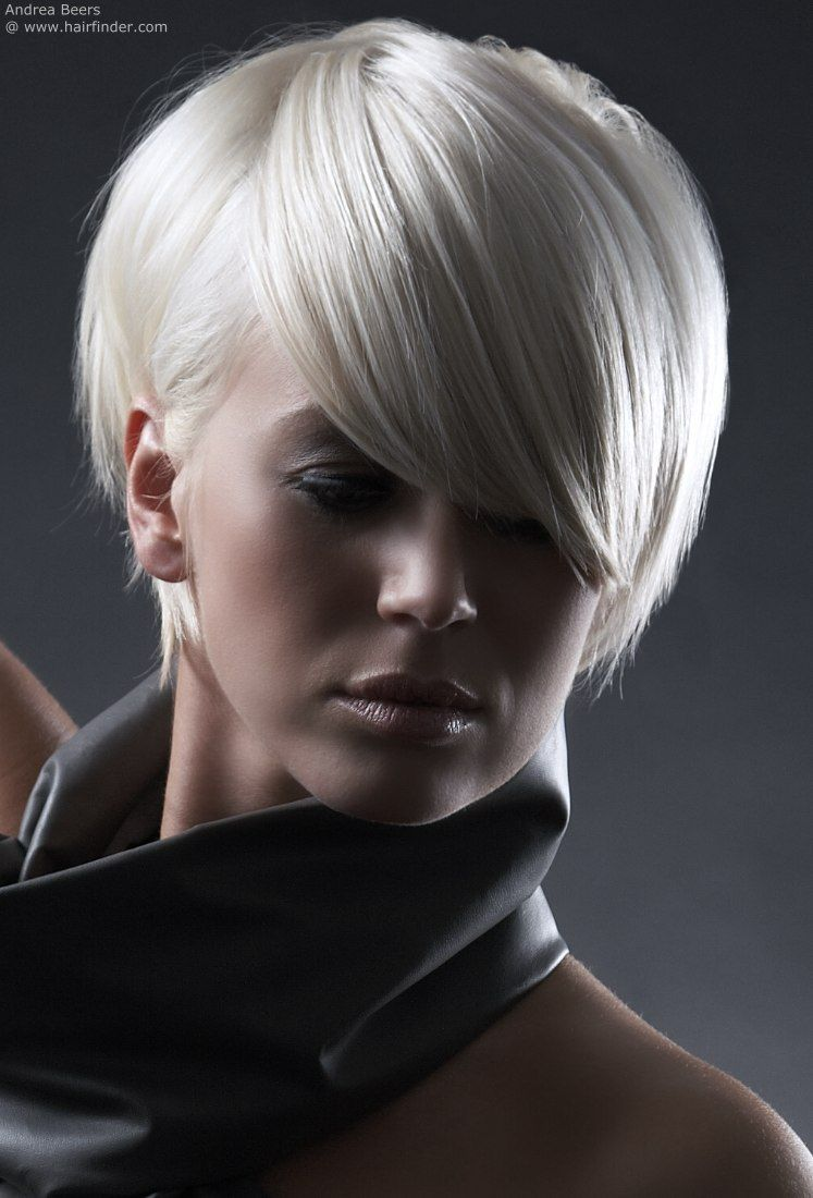 White Satin Hair