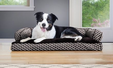 Up To 43 Off On Insulating Pillow Dog Bed Groupon Goods