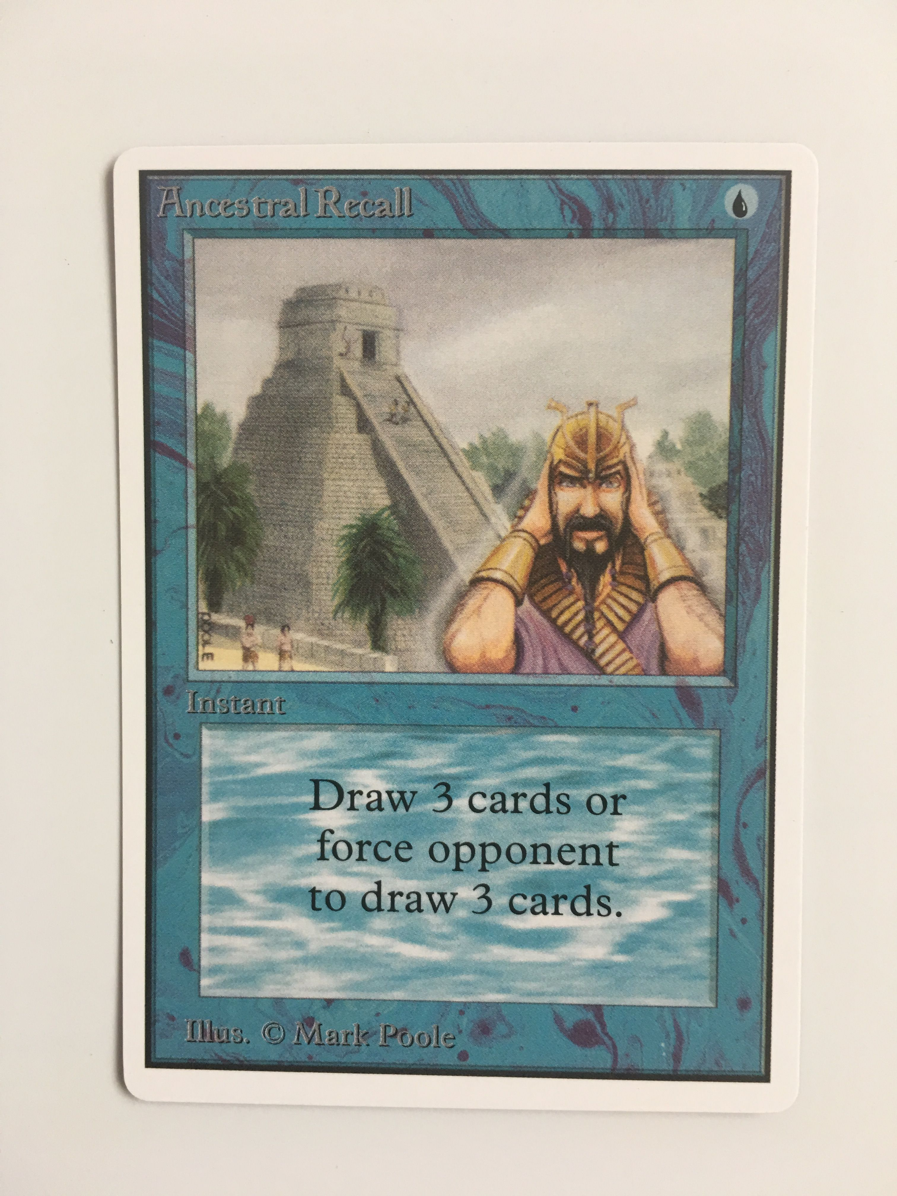 Ancest recall unlimited magic the gathering the