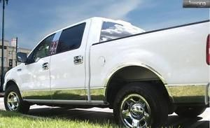 """TYGER For 04-08 F-150 Super Cab 5.5/' Short Bed W//Flare Groove Insert 1//2/"""" 10PC"""
