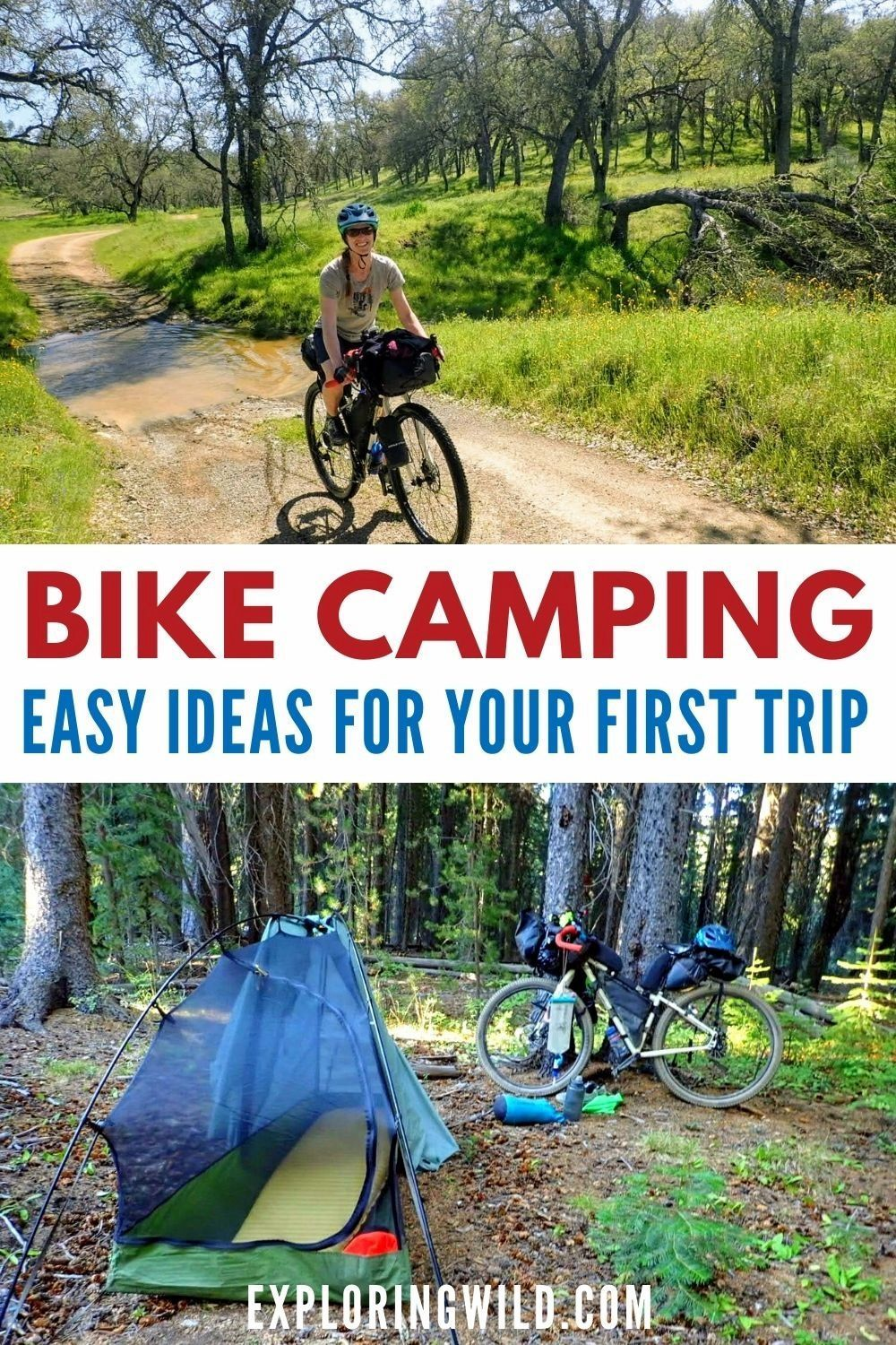 Bike Camping: Easy Ideas for Your First Trip