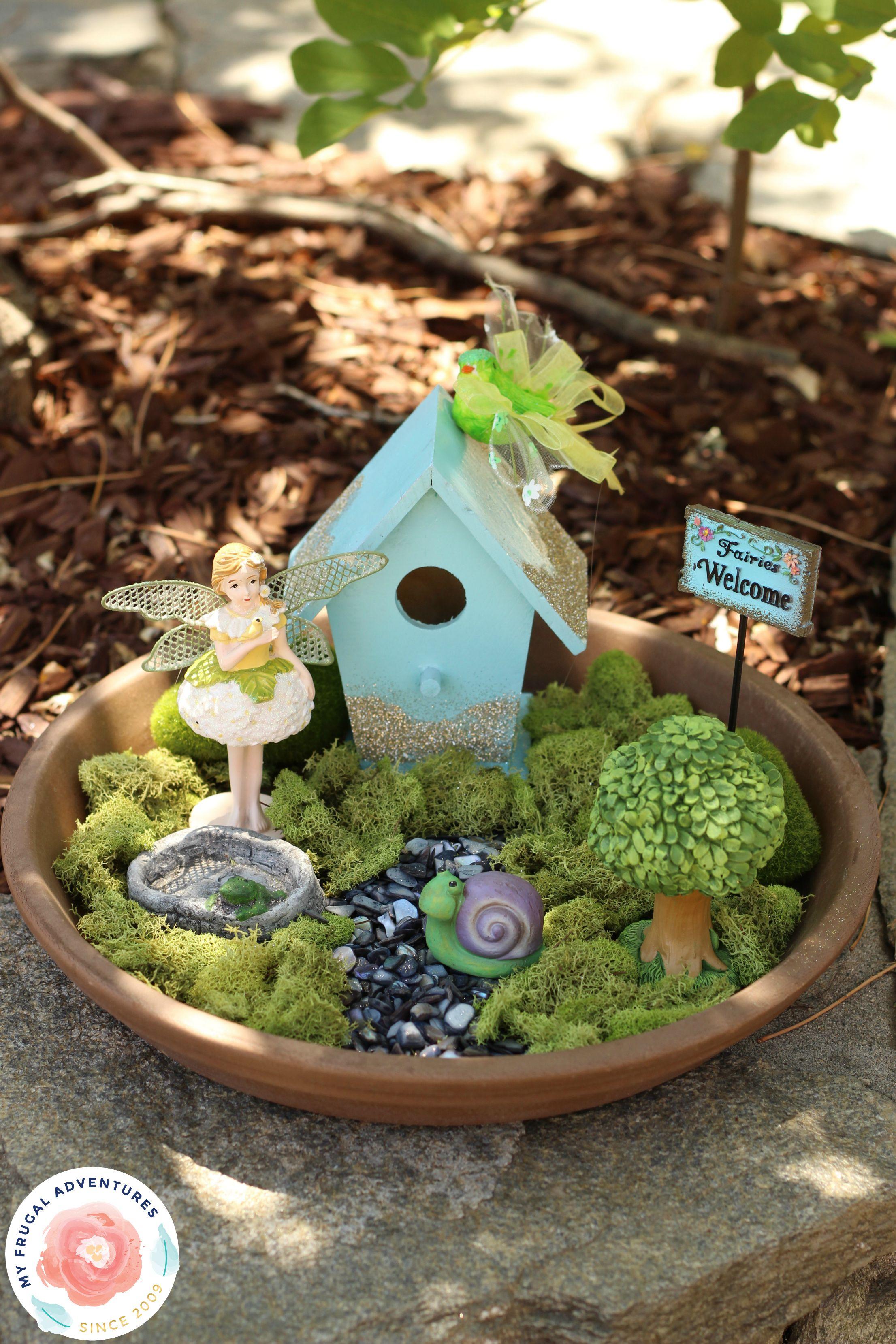 How To Make An Indoor Fairy Garden | MyCoffeepot Org