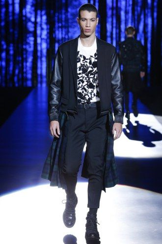 Leather never goes out of style, especially in a great cut!  Read our review of the DSquared2 FW 16 Menswear Collection:  http://attireclub.org/2016/03/12/dsquared2-fall-winter-2016-menswear-collection/