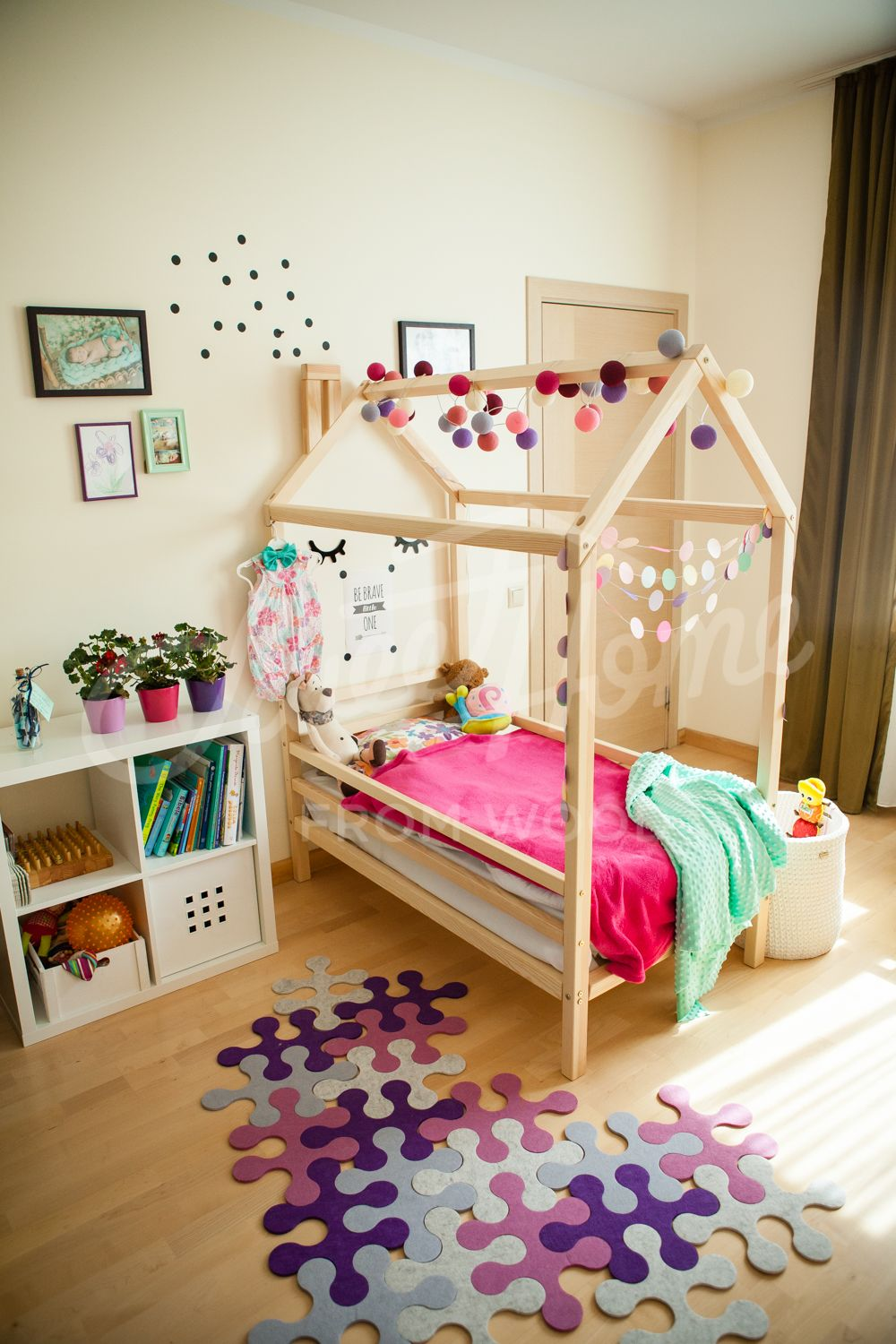Children Bed House Toddler Bed Children Furniture Baby Bed Etsy