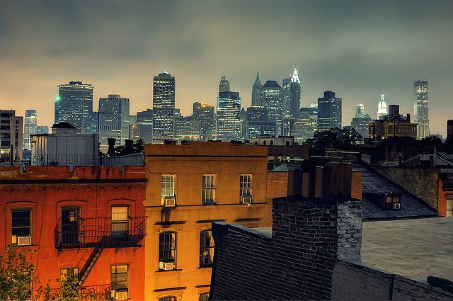 Sharon S View Brooklyn Heights New York City New York Brooklyn Heights City
