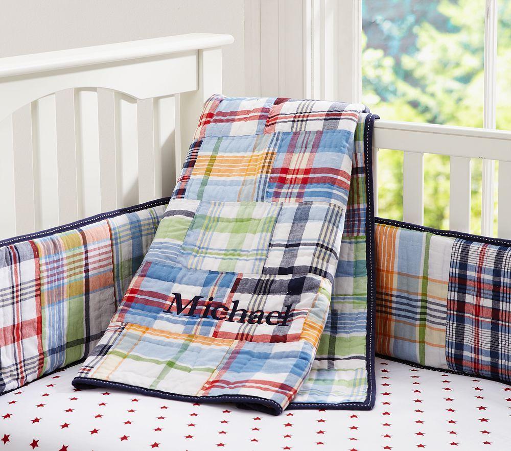 Madras Boy Nursery Bing Images Crib Bedding Boy Baby