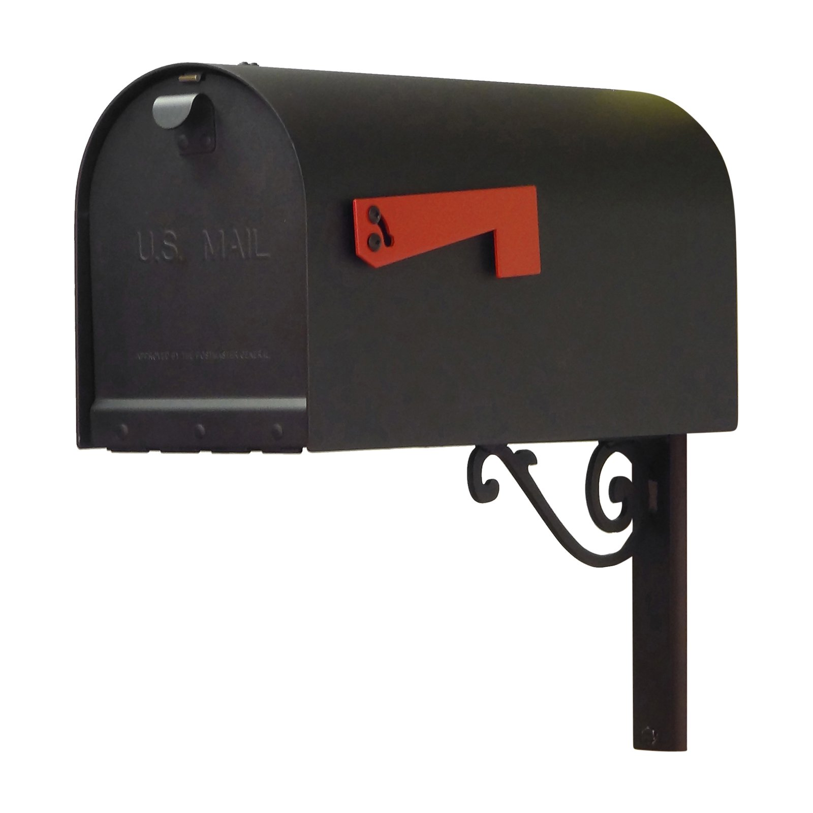 Special Lite Products Titan Aluminum Curbside Mailbox With Baldwin