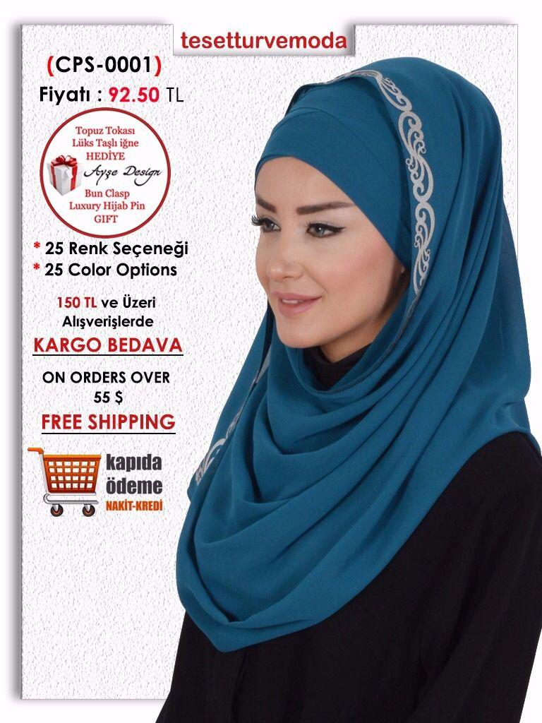 Toptan ve Perakende satışımız bulunmaktadır. www.tesetturvemoda.com internet sitemizden online olarak tüm ürünlerimizi görebilir ve satın alabilirsiniz. Ready to wear bridal hijabs, Shawls, Ready to wear hijabs in wholesale and retail. www.tesetturvemoda.com  On website you can view and order all models. Facebook  : https://goo.gl/iHjQky / wwwtesetturvemodacom Twitter : https://goo.gl/1J1gSG / tesetturvemoda1 Instagram : https://goo.gl/64eO0v / tesetturvemoda Google : https://goo.gl/ECGDT1…