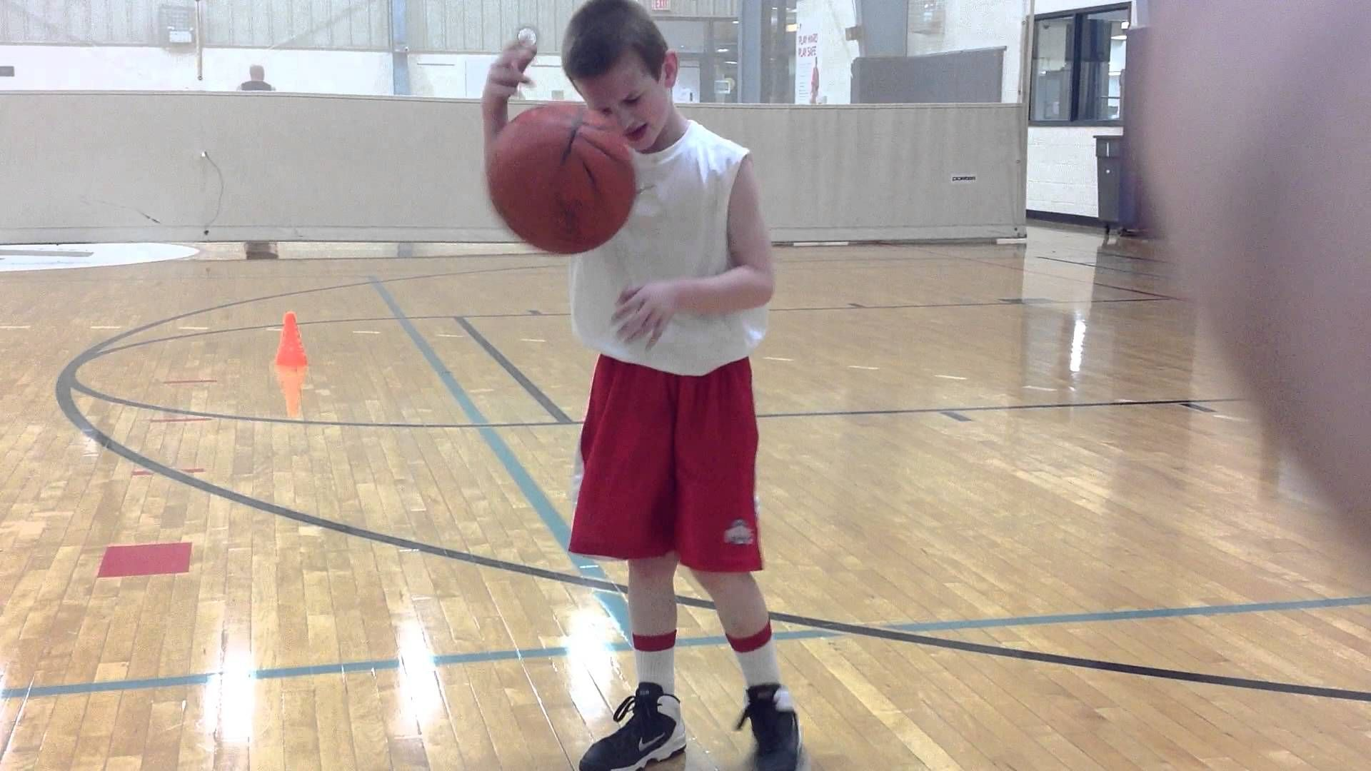 Mattew Burkhart 6 Years Old 1st Grade Basketball