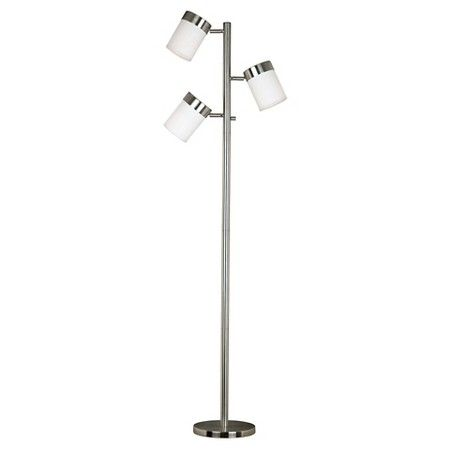 Kenroy home floor lamp stainless steel aloadofball Image collections