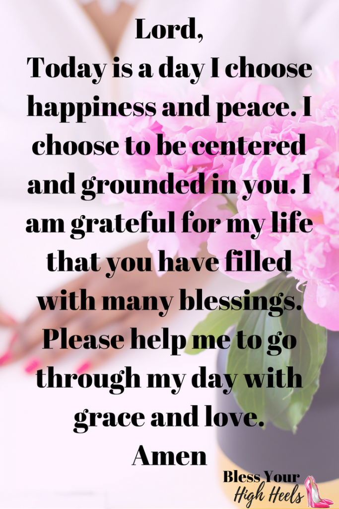 Daily Inspirational Prayer For Happiness And Peace Best Of Bless